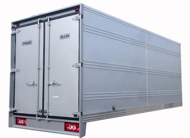 Thùng kín xe tải 3.5 tấn