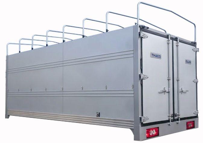 Thùng mui bạt mới - Xe tải 3.5 tấn thùng dài 4m3