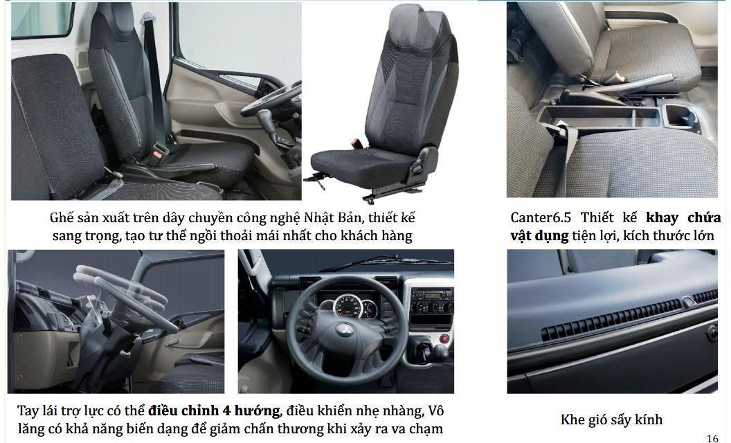 Fuso-499-65-2t1-3t5-0106 Thông số kỹ thuật xe tải Mitsubishi Fuso 2T5 và 3T5 Canter 4.99 và 6.5