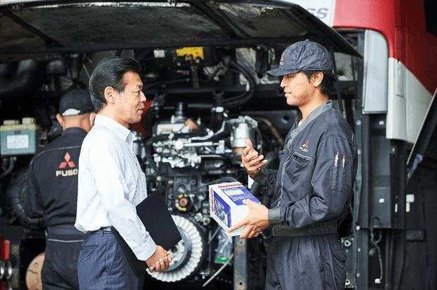 dich-vu-fuso Thương hiệu Mitsubishi Fuso - Dòng xe tải cao cấp 2020
