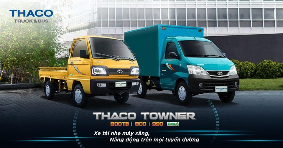 xetai-1tan Towner 990 - Xe tải nhẹ dưới 1 tấn mới 2020