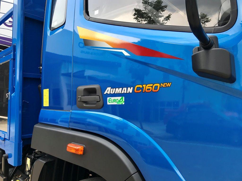 Xe tải Auman C160 9 tấn thùng 7m4 máy Cummins Mỹ 160PS