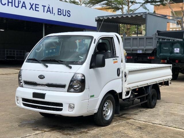 Xe tải kia k200 thùng lửng trắng