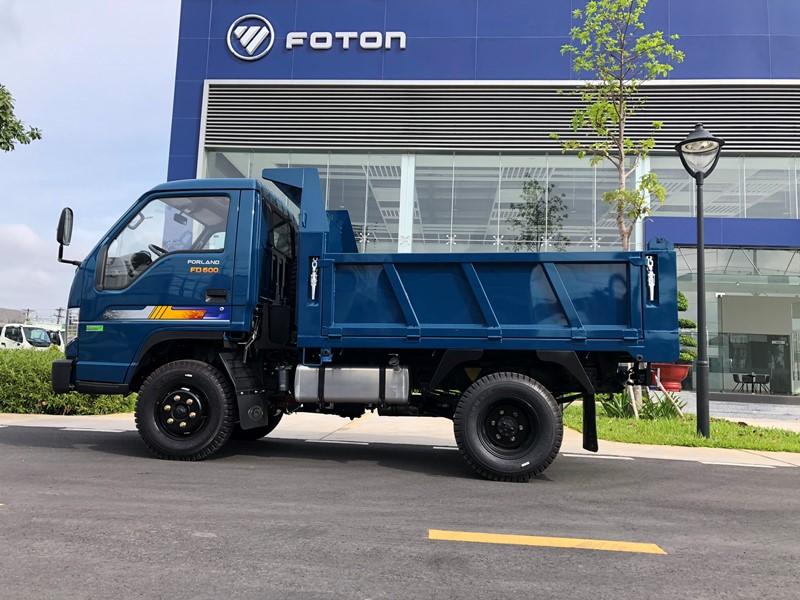 Xe ben 3.5 tấn 2.1 khối THACO Forland FD600 nâng cấp