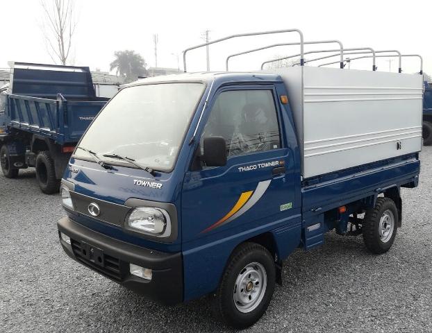 Xe tải 900kg thùng mui bạt (9 tạ)