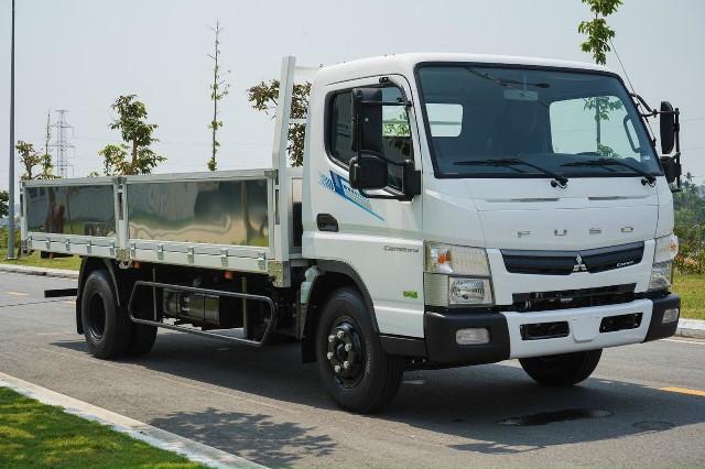 xe tải fuso 3t5 thùng dài 5m2 tf7.5